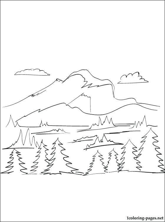 560x750 Mountain Coloring Page Mountain Coloring Page Mountain Gorilla