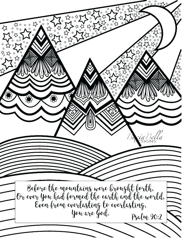 621x810 Mountain Coloring Page Mountain Coloring Pages Mountain Coloring