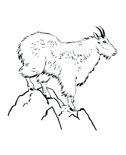 405x497 Mountain Coloring Page Mountain Lion Coloring Page Mountains