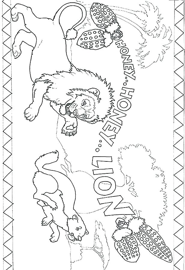 616x900 Baby Mountain Lion Coloring Pages Coloring Page Lion Coloring Page
