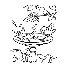 230x230 Printable Nature Coloring Pages For Your Little Ones