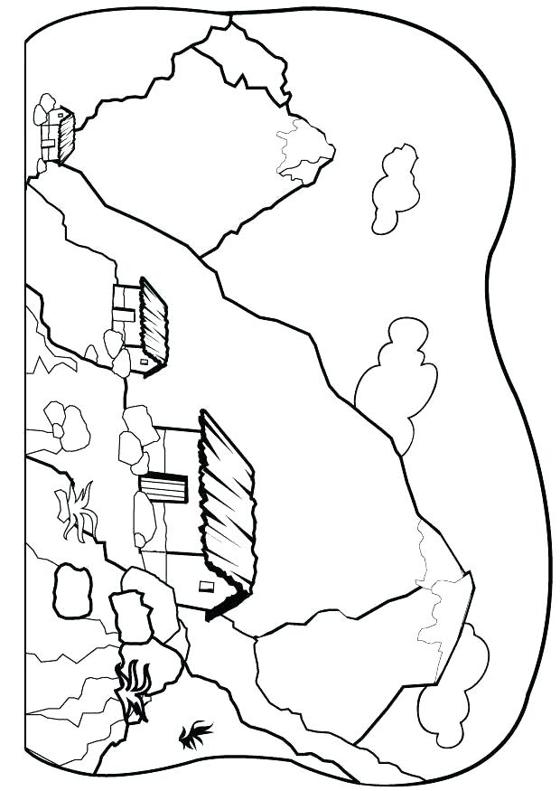 620x875 Mountains Coloring Page Mountain Coloring Page A Scenic View