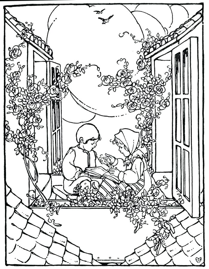 699x900 Scenery Coloring Pages Jungle Scenery Coloring Pages