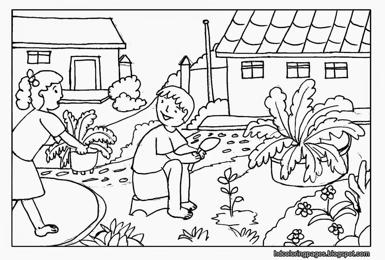 1600x1080 Smart Scenery Coloringges Nature Christmas Scenes Sheets Winter