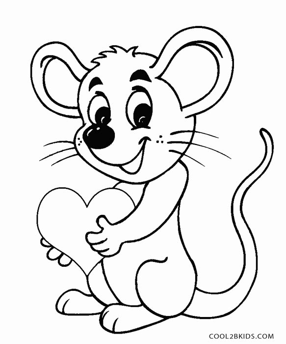 583x700 Mouse Coloring Pages Printable Mouse Coloring Pages For Kids