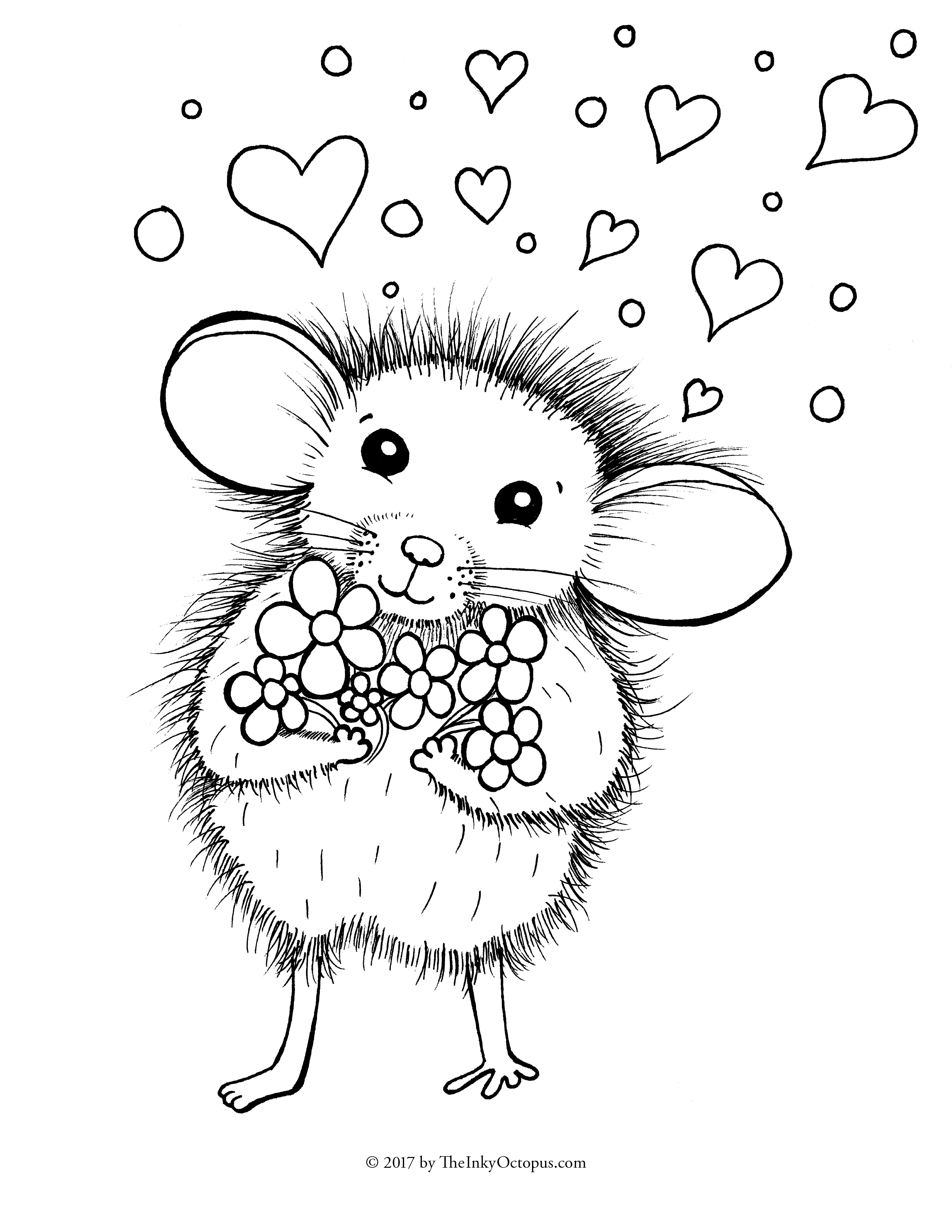 2550x3300 Mouse Coloring Page Free Printable Pages For Kids Ribsvigyapan