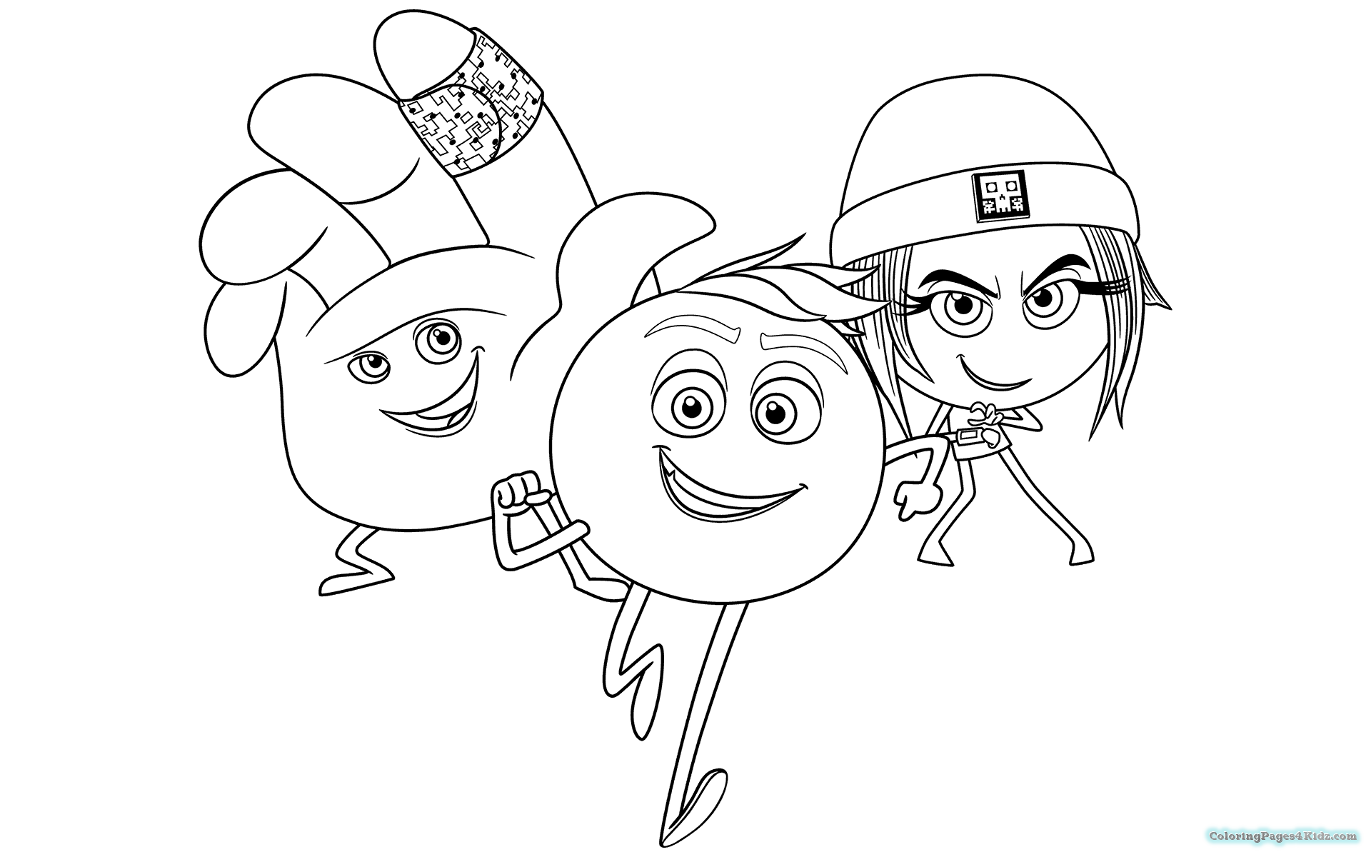 1920x1200 The Emoji Movie Coloring Pages For Kids New