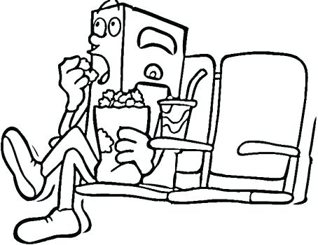 454x350 Movie Coloring Pages