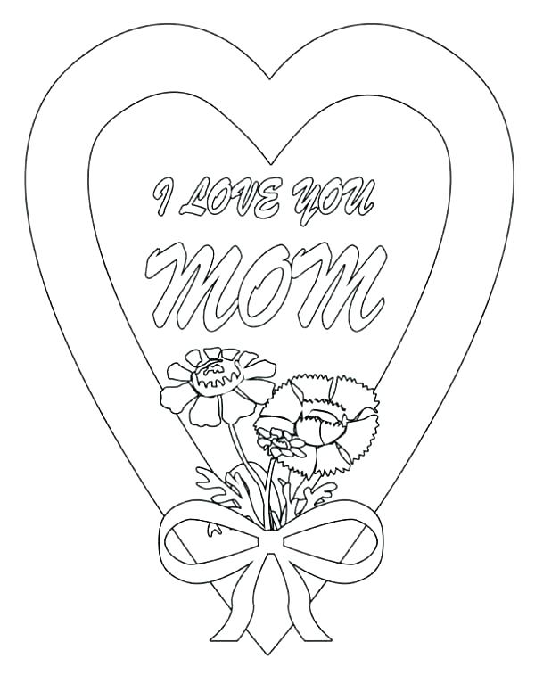 600x757 My Home Coloring Pages Home Coloring Pages Movie I Love My Mommy