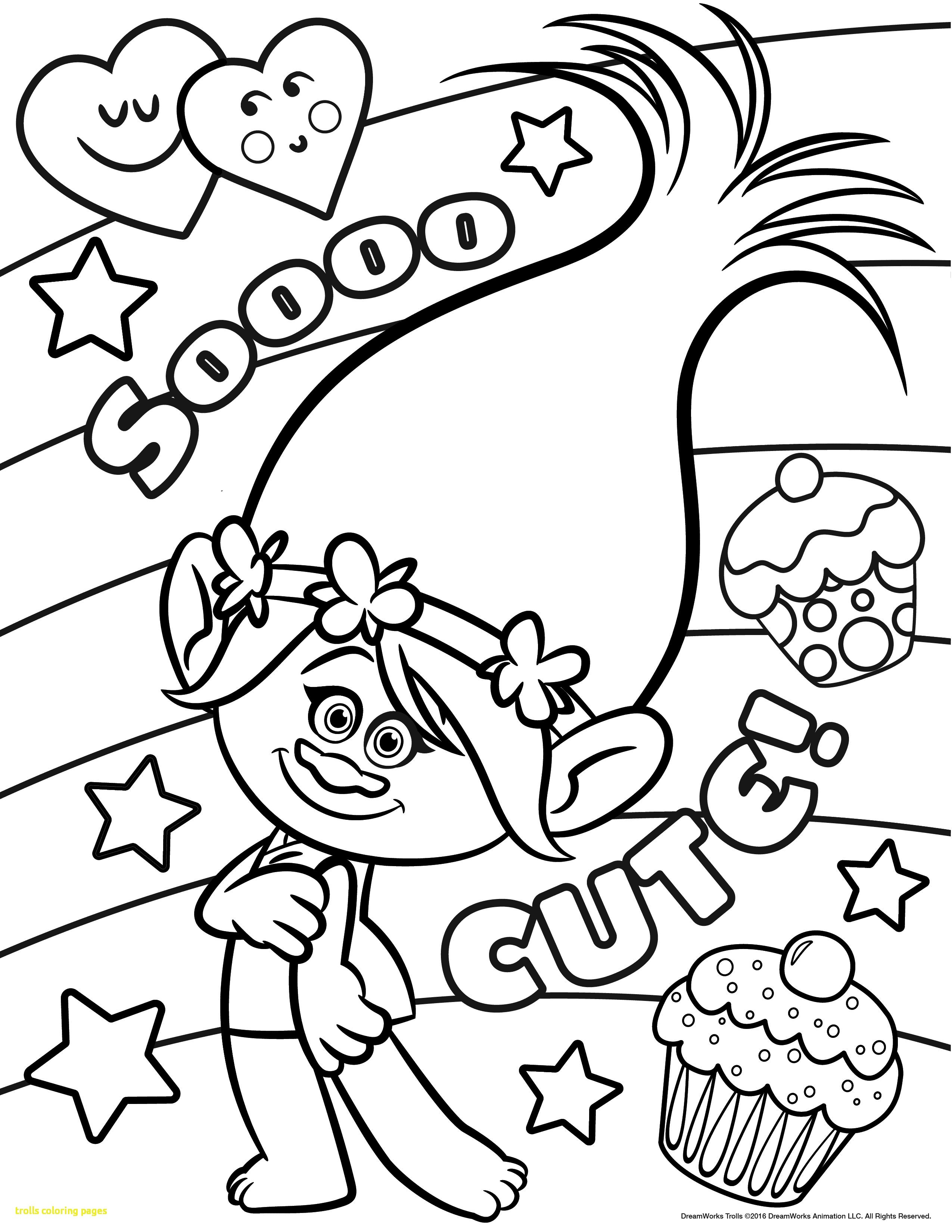 2550x3300 Trolls Coloring Pages With Movie Best Incredible Dreamworks Home
