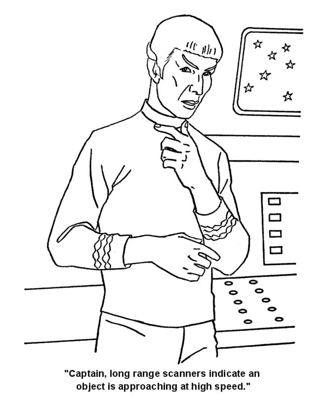 670x820 Best Coloring Pages Star Trek Images On Coloring