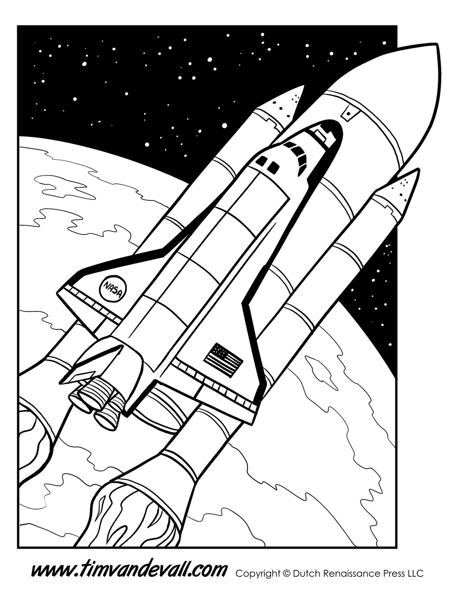 927x1200 Space Shuttle Coloring Page Tims Printables Space Shuttle Coloring