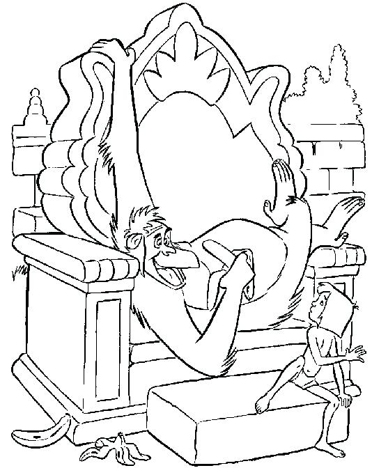 534x682 Jungle Book Coloring Page Characters Colouring Pages For Adults