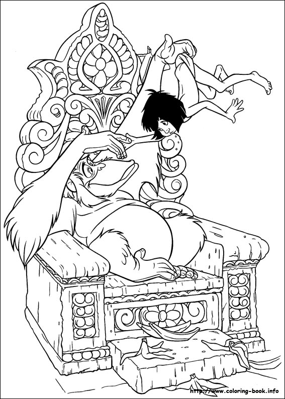 567x794 Jungle Book Coloring Pages On Coloring