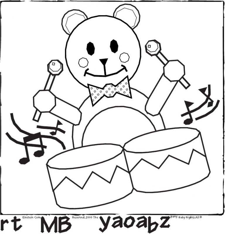 768x799 Coloring Pages Baby Einstein Best