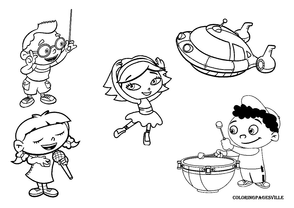 1169x827 Coloring Pages Baby Einstein New Mozart
