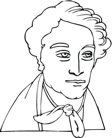 388x480 Wolfgang Amadeus Mozart Coloring Page I Am Coloring Wolfgang