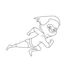 Mr Incredible Coloring Pages At Getdrawings Com Free For