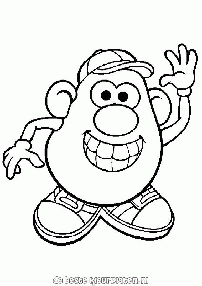 645x912 Mr Potato Head Pictures Print Free Free Coloring Sheets