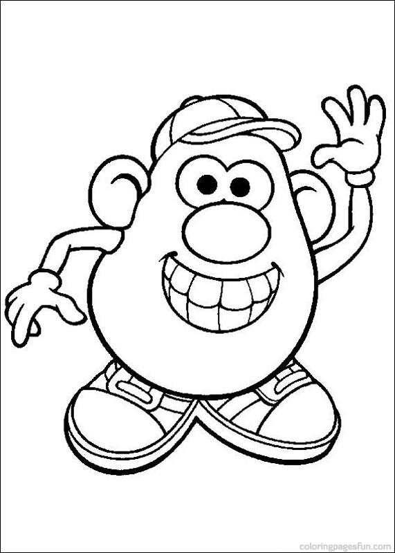 571x800 Mr Potato Head Coloring Pages Proyectos Que Intentar