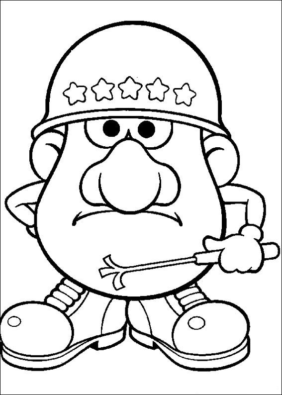 567x794 Kids N Coloring Pages Of Mr Potato Head