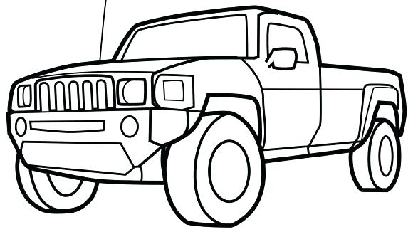 580x326 Mud Truck Coloring Pages Truck Color Pages Great Pickup Truck