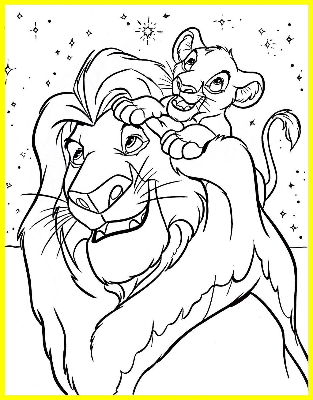1022x1307 Amazing Disney Coloring Pages Mufasa Simba Walt Characters Photo
