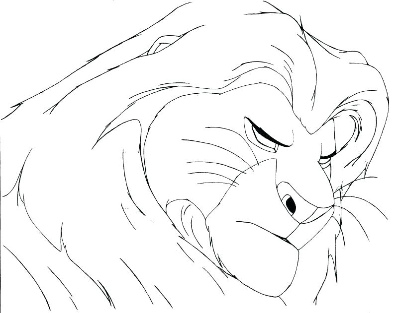 800x631 Mufasa Coloring Pages Coloring Pages Lion King Kids And Mufasa