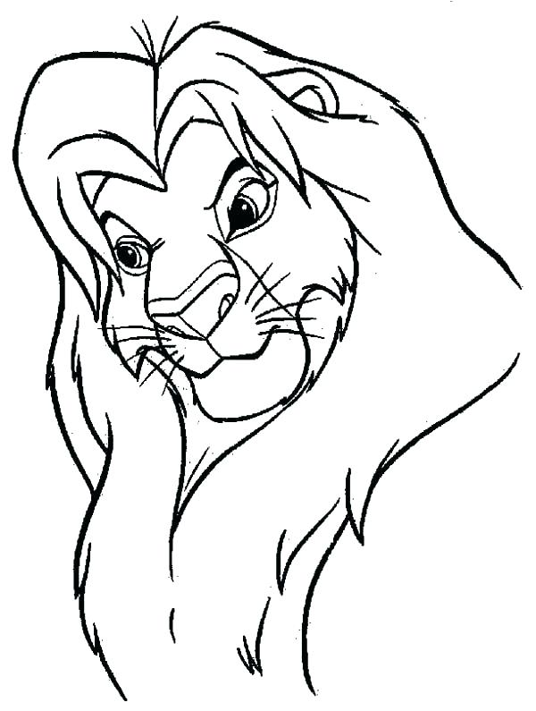600x795 Mufasa Coloring Pages Coloring Pages Related Post Colouring Pages