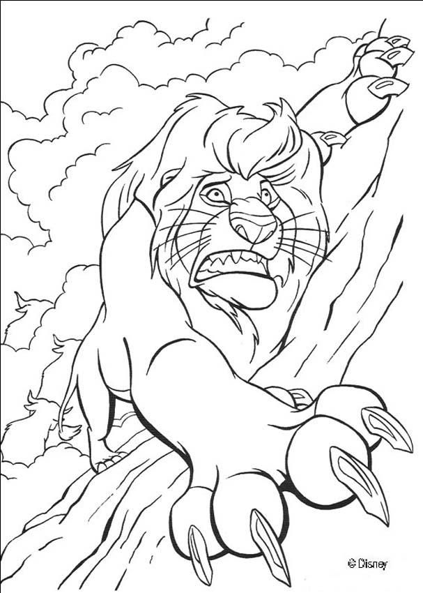 607x850 The Lion King Coloring Pages