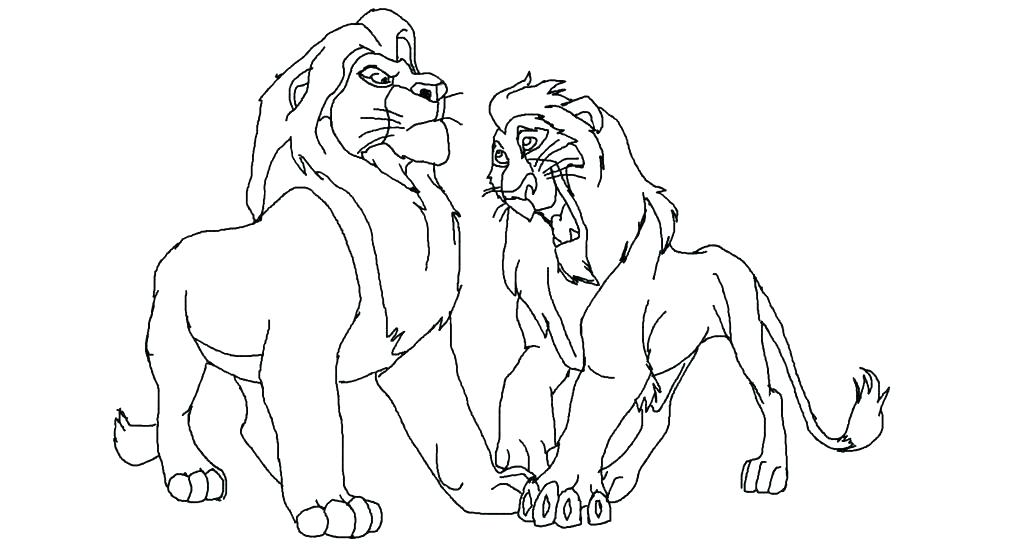 1024x559 Mufasa Coloring Pages