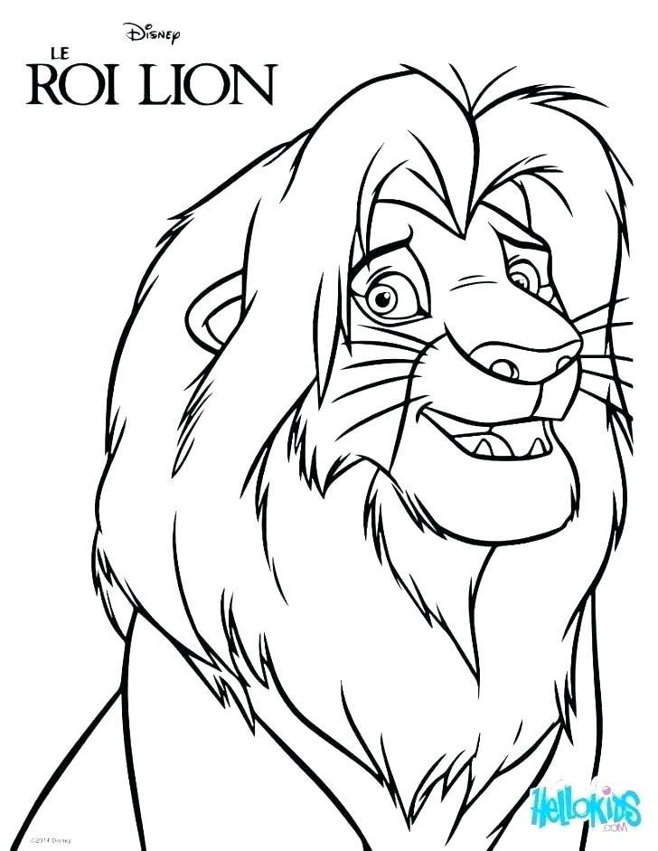 728x941 Mufasa Coloring Pages Awesome And Coloring Page Mufasa Colouring