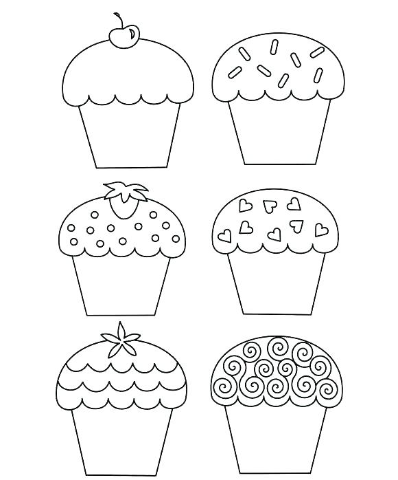 580x698 Muffin Coloring Page Cupcake Color Page Cupcake Color Page Cupcake