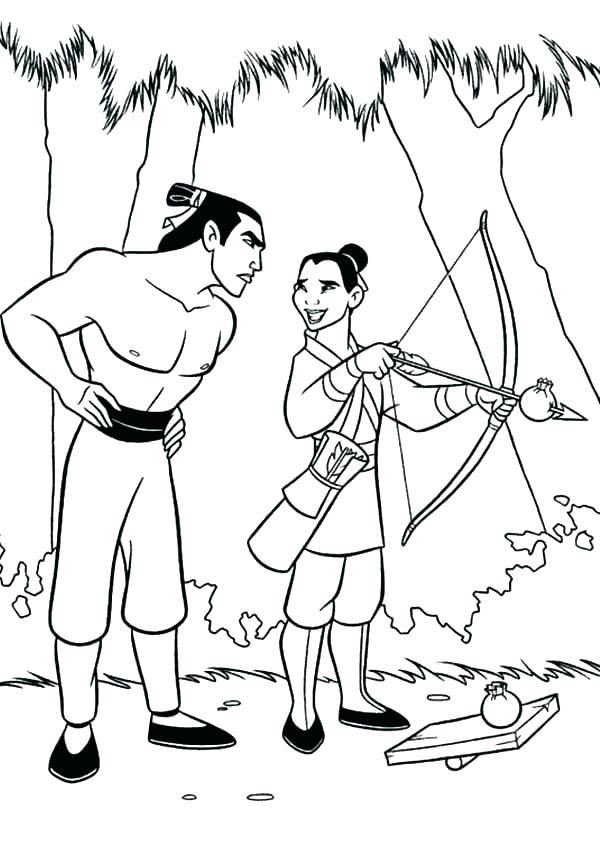Mulan Drawing at GetDrawings   Free download