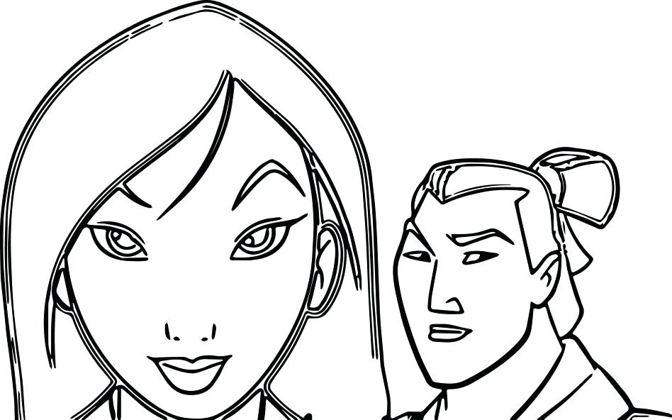 948x592 Mulan Coloring Page Images About Coloring Pages On Mulan