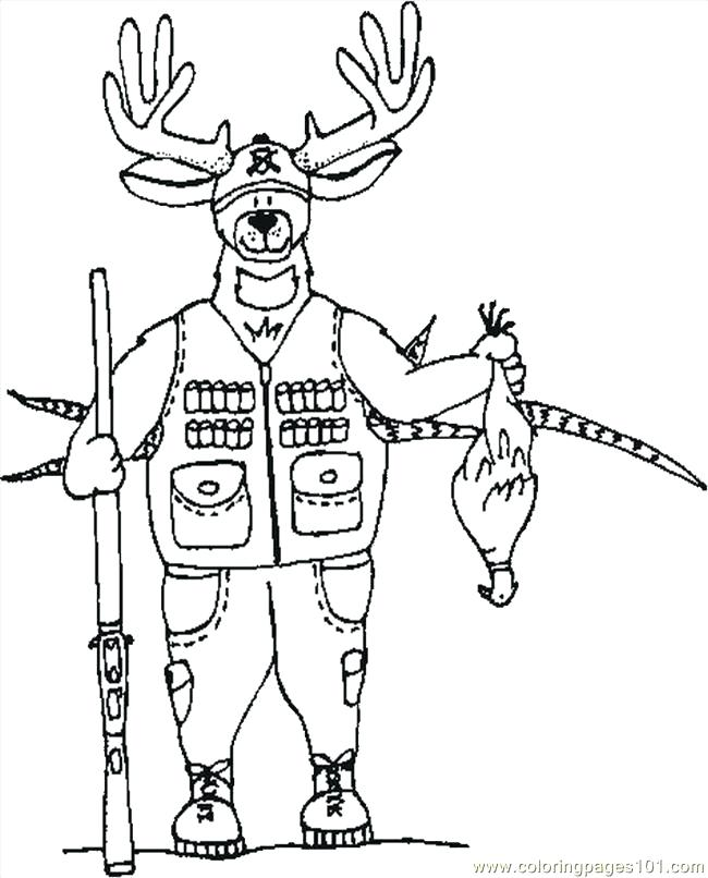 650x806 Deer Coloring Sheet Printable Deer Coloring Pages Mule Deer