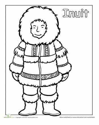 Multicultural Children Coloring Pages