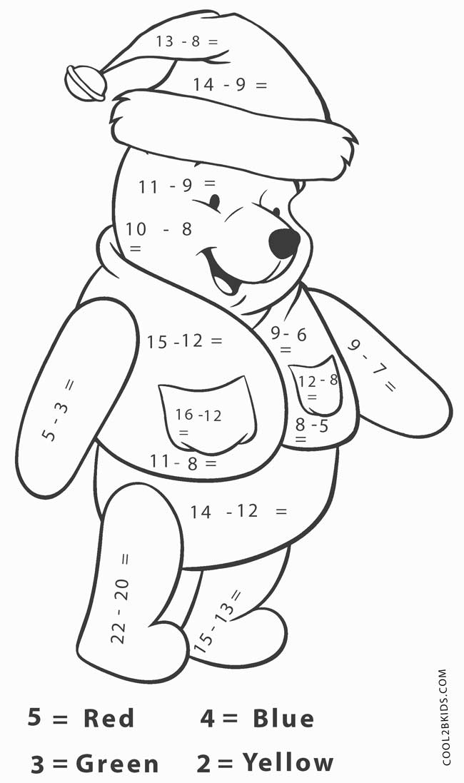 650x1097 Free Printable Math Coloring Pages For Kids
