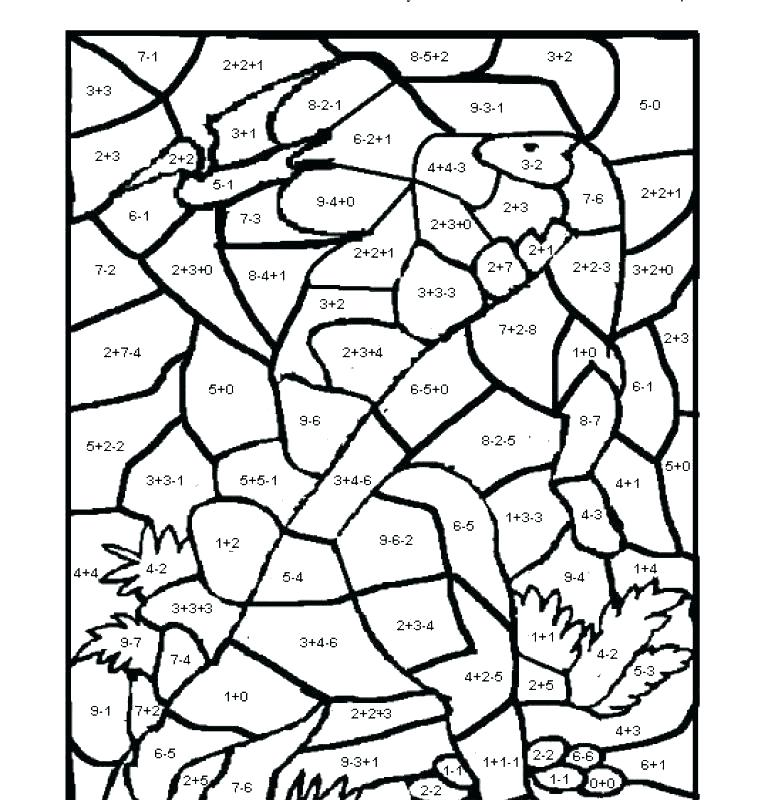 768x800 Math Coloring Pages Grade Coloring Pages Grade Grade Coloring