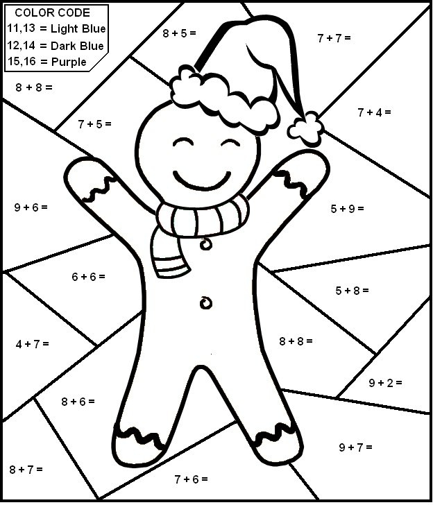 624x728 Addition Worksheets Coloring Pages Printable Math Coloring Sheets