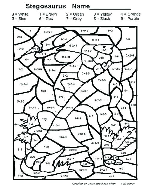 502x619 Division Coloring Pages Division Coloring Sheet Grade Free