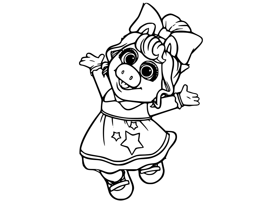Muppet Babies Coloring Pages At Getdrawings Free Download