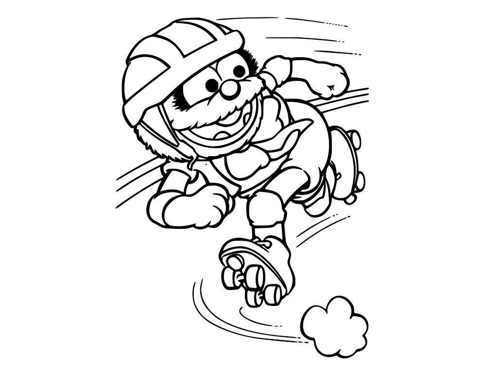 Muppet Babies Coloring Pages at GetDrawings | Free download