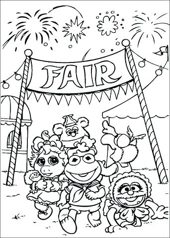 342x480 Muppet Coloring Pages Babies Coloring Pages Click To See Printable