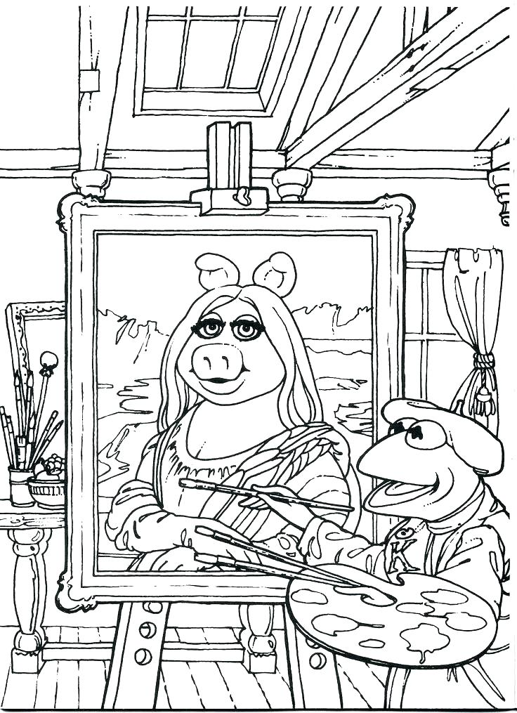 736x1015 Muppet Coloring Pages Coloring Pages Babies Coloring Pages Muppet