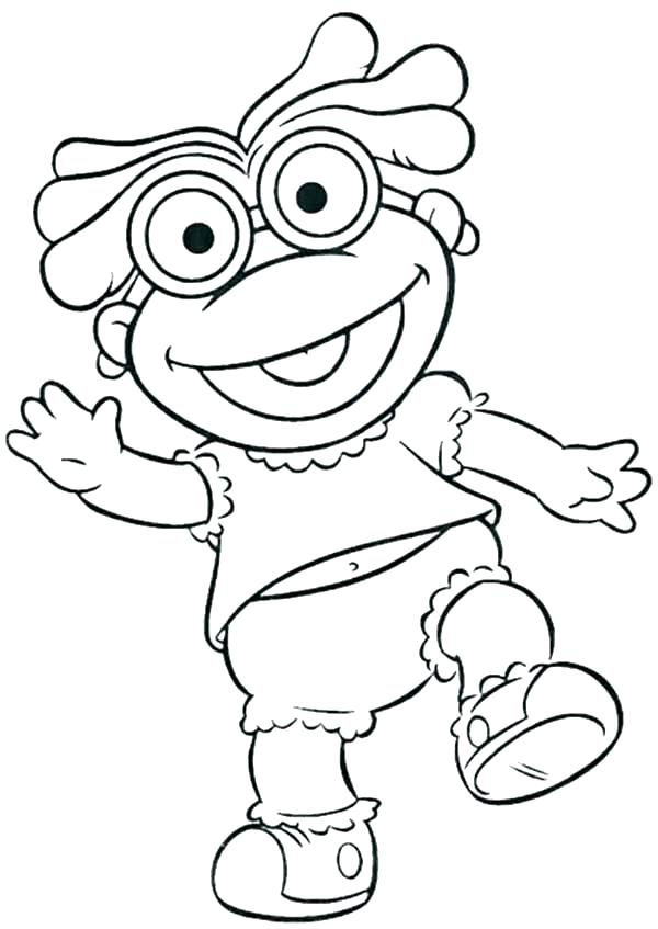 600x847 Muppet Coloring Pages Coloring Pages Coloring Pages Babies