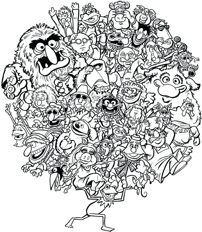676x776 Muppet Coloring Pages Coloring Pages Photo Gallery Of Coloring