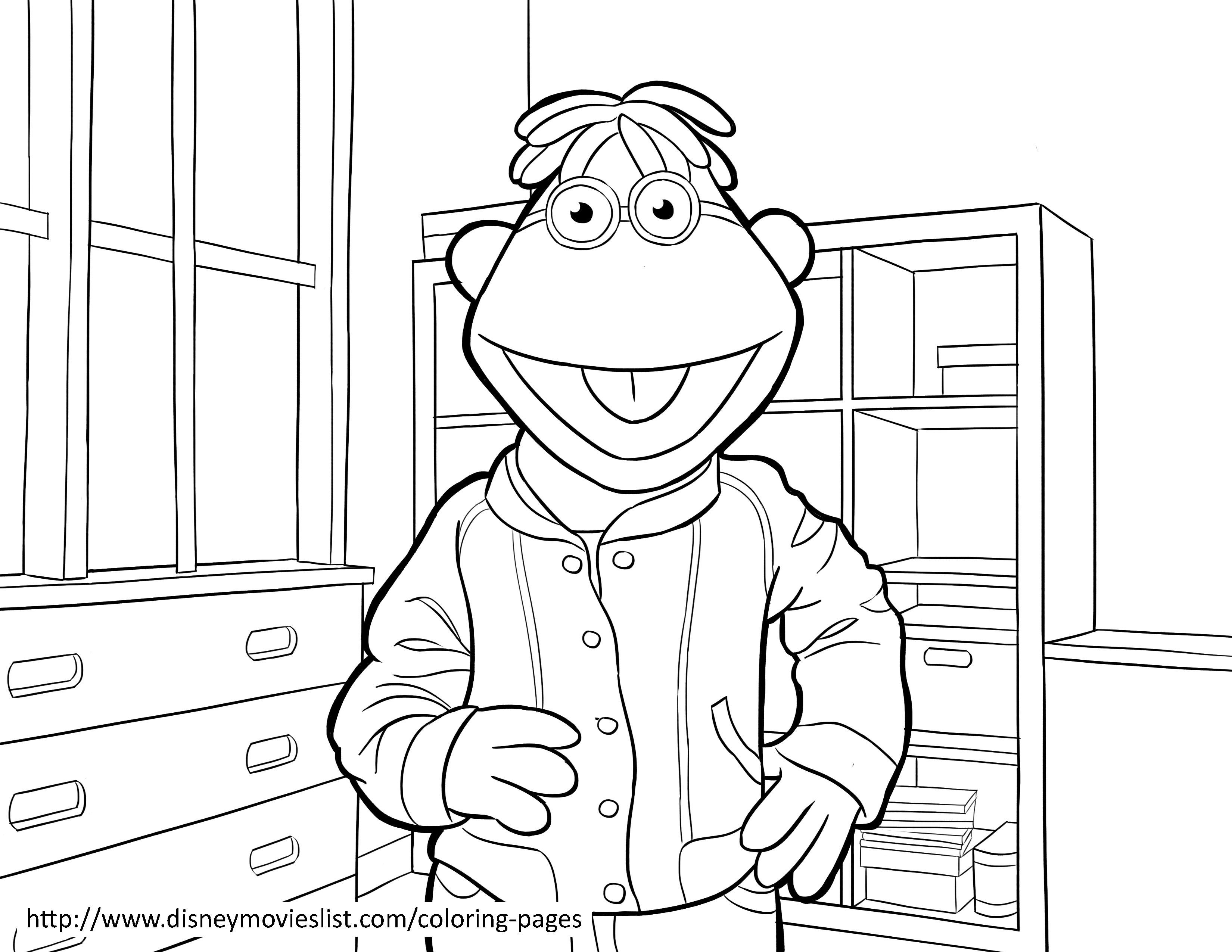 3300x2550 Muppet Coloring Pages The Muppets Disney Colori On Show Throughout