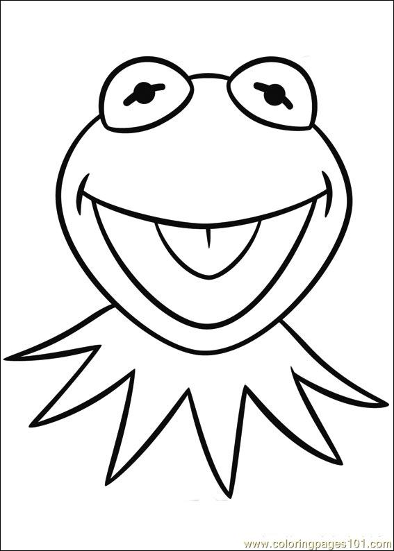 567x794 Muppets Coloring Page