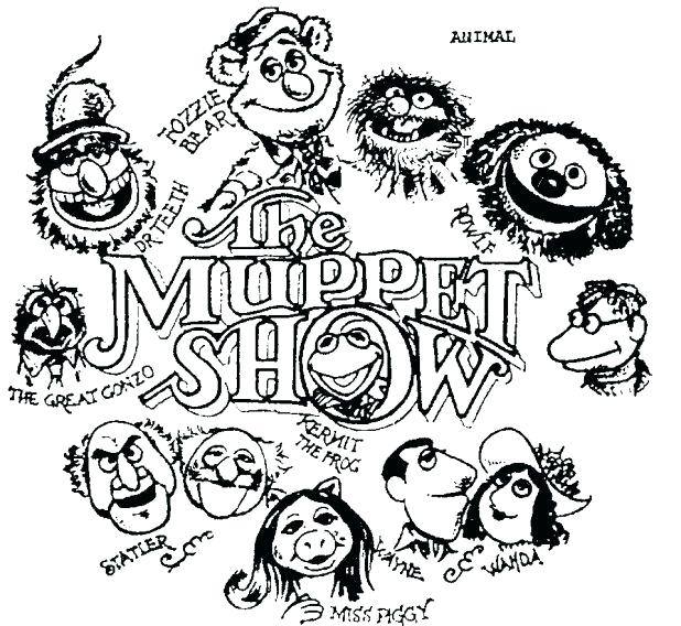 618x568 Muppets Coloring Pages Coloring Pages Biz Carol Colouring Beaker